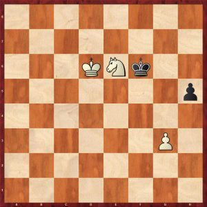 Knight Ending Zugzwang Example
