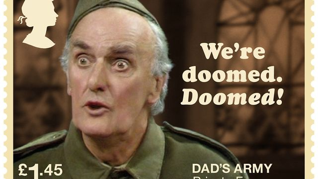 Private Frazer : We're doomed, Doomed!