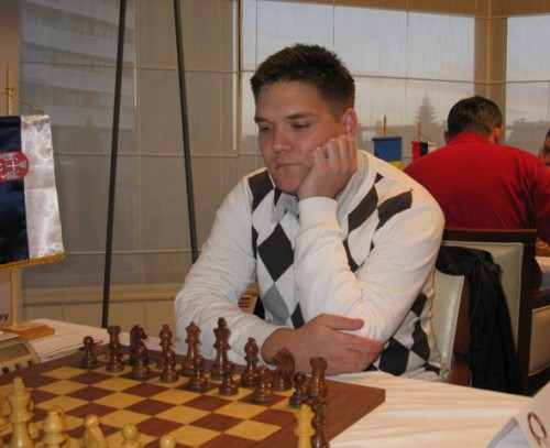 GM Nikola Sedlak in 2010 at the 16th Bora Kostic Memorial