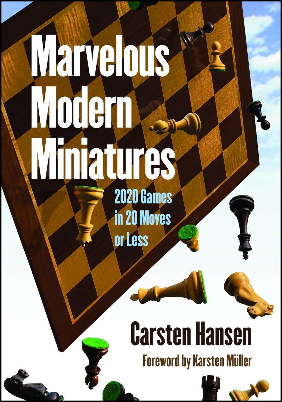 Marvelous Modern Miniatures, Carsten Hansen, Russell Enterprises, December 2020, ISBN-13 : 978-1949859225