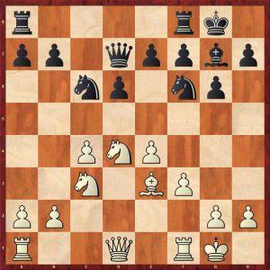 Akopian-Kasparov Bled 2002 Move 10