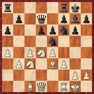 Akopian-Kasparov Bled 2002 Move 14