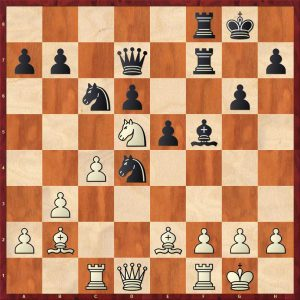 Furman-Spassky Moscow 1957 Move 18