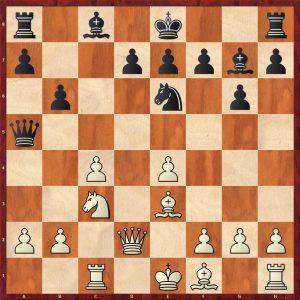 Karpov-Larsen Brussels 1987 Move 12