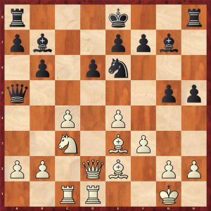 Karpov-Larsen Brussels 1987 Move 16
