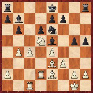 Karpov-Larsen Brussels 1987 Move 18