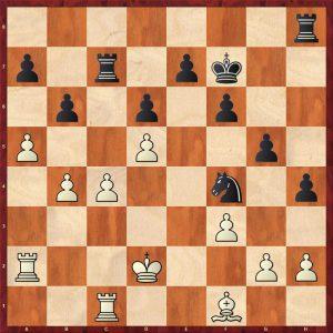 Karpov-Larsen Brussels 1987 Move 26