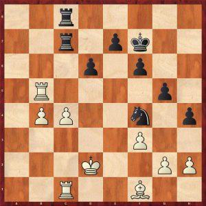 Karpov-Larsen Brussels 1987 Move 31