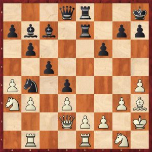 Lisitsin-Botvinnik Leningrad 1932 Move 37