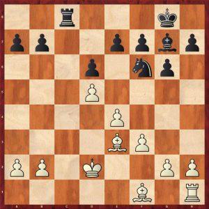 Polugaevsky-Ostojic Belgrade 1969 Move 16