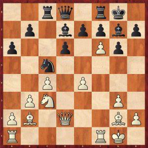 Smyslov-Timman Moscow 1981 Move 17