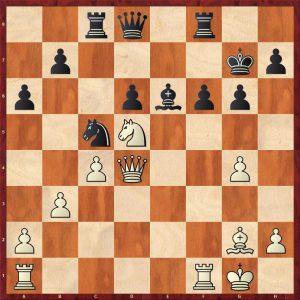 Smyslov-Timman Moscow 1981 Move 23
