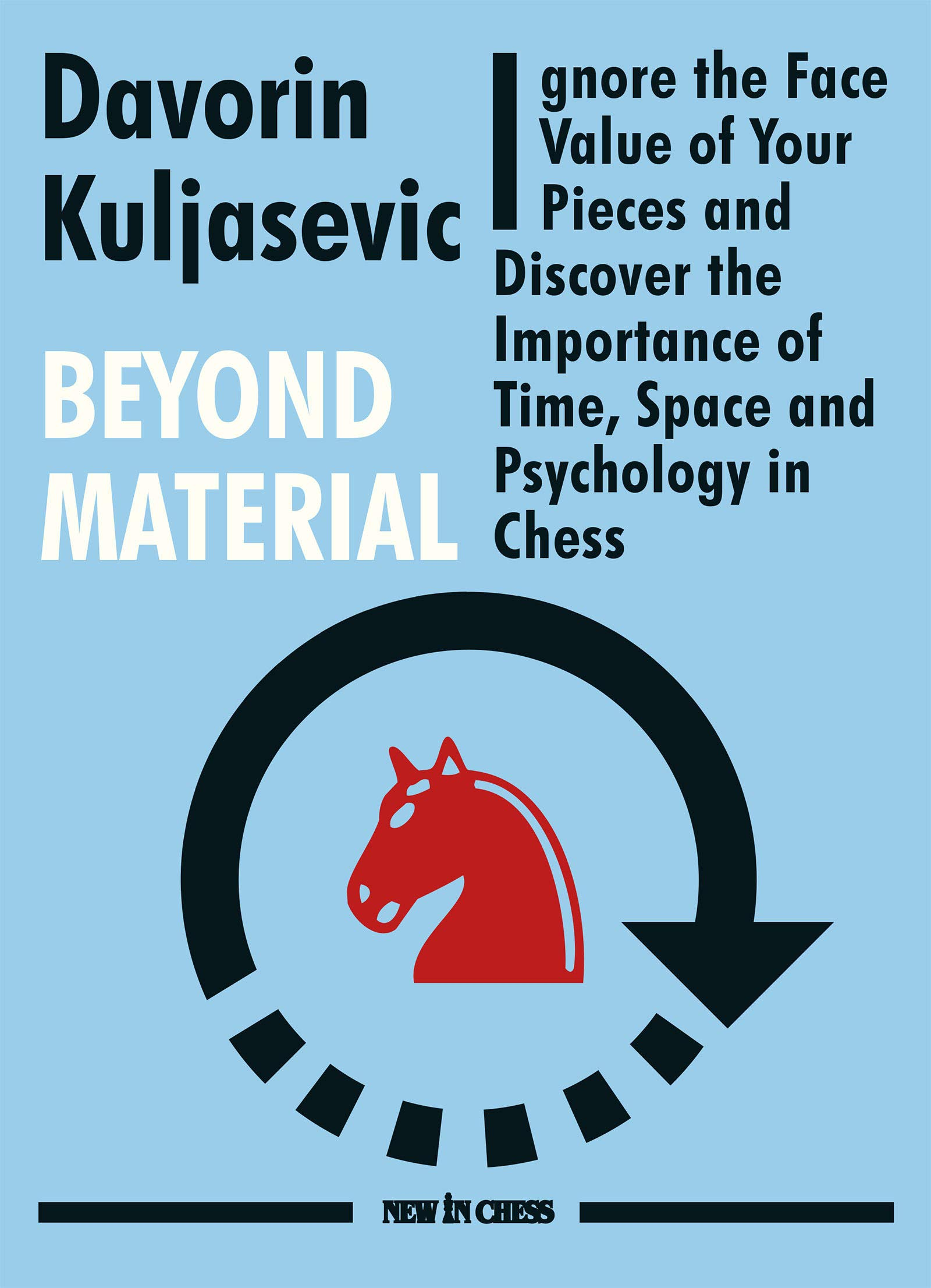 Beyond Material: Ignore the Face Value of Your Pieces and Discover the Importance of Time, Space and Psychology in Chess, Davorin Kuljasevic, New in Chess, 2021, 978-9056918606