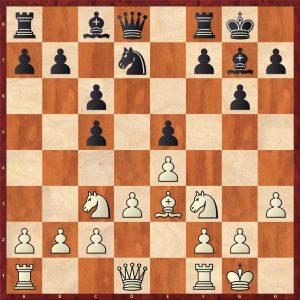 Adams-Kramnik Dortmund 2000 Move 10