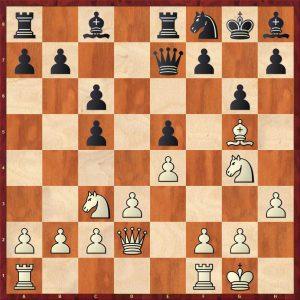 Adams-Kramnik Dortmund 2000 Move 14