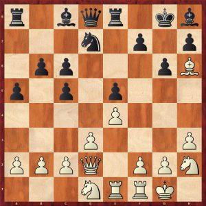 Adams-Kramnik Dortmund 2000 Variation 1 Move 14