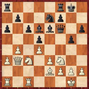 Aronian-Anand Baden-Baden Move 16 White to move