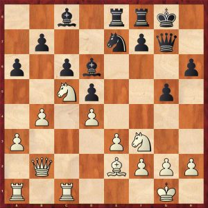 Aronian-Anand Baden-Baden Move 19 White to move