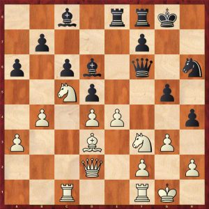 Aronian-Anand Baden-Baden Move 24 Black to move