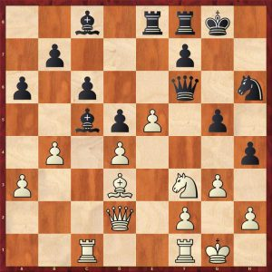 Aronian-Anand Baden-Baden Move 25 Black to move