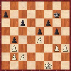 Aronin-Smyslov Moscow 1951 Move 46