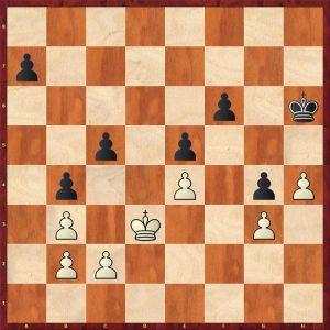 Aronin-Smyslov Moscow 1951 Move 50