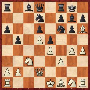 Averbakh-Petrosian Moscow 1961 Move 12 Black to play