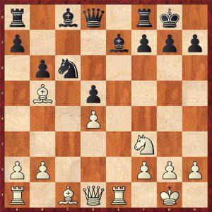 Botvinnik-Alekhine AVRO 1938 Move 12 Black to move