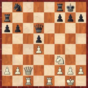 Botvinnik-Alekhine AVRO 1938 Move 19 Black to move