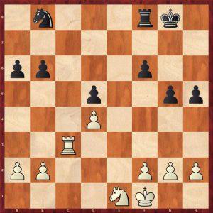 Botvinnik-Alekhine AVRO 1938 Move 27 White to move