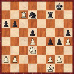 Botvinnik-Alekhine AVRO 1938 Move 32 White to move