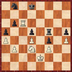 Botvinnik-Alekhine AVRO 1938 Move 39 White to move