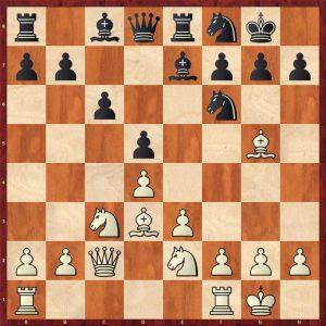 Botvinnik-Keres Moscow 1952 Move 11 White to play
