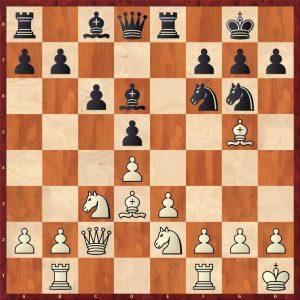 Botvinnik-Keres Moscow 1952 Move 13 White to play