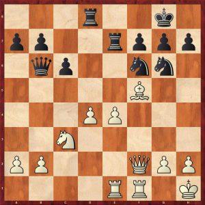 Botvinnik-Keres Moscow 1952 Move 22 White to play