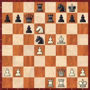 Botvinnik-Keres Moscow 1952 Move 25 White to play