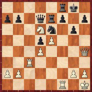Botvinnik-Keres Moscow 1952 Move 31 White to play