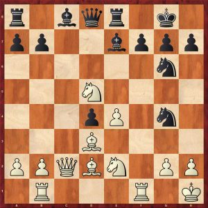 Botvinnik-Keres Moscow 1952 Variation 1 Move 18 White to play