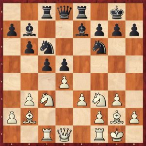 Botvinnik-Petrosian Moscow 1964 Move 13 White To Move