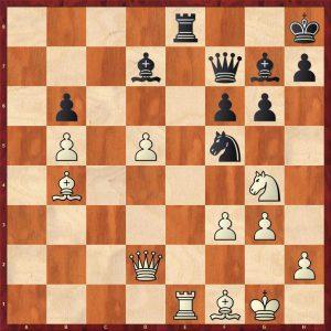 Botvinnik-Petrosian Moscow 1964 Move 41 White To Move