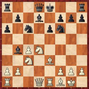 Carlsen-Gelfand London 2013 Variation 1 Move 12