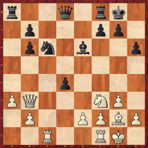 Chernikov-Spassky Moscow 1966 Move 17 White to move
