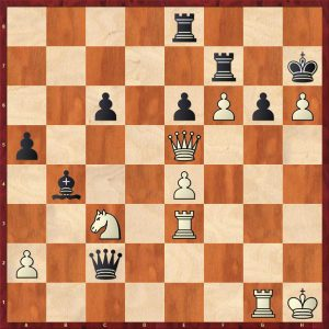 Fischer-Gligoric Varna 1962 Move 31