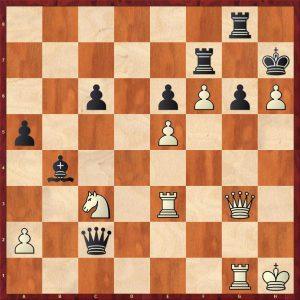 Fischer-Gligoric Varna 1962 Move 32