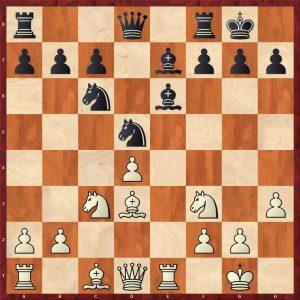 Grandelius-Zatonskih IOM 2017 Move 13 White to move