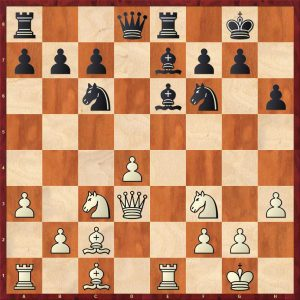 Grandelius-Zatonskih IOM 2017 Move 16 White to move