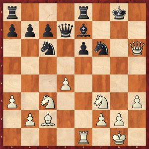 Grandelius-Zatonskih IOM 2017 Move 21 White to move