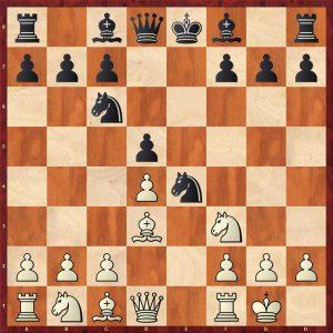 Grandelius-Zatonskih IOM 2017 Move 7 Black to move