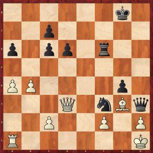 Grischuk-Mamedyarov Hersonissos 2017 Variation Move 33