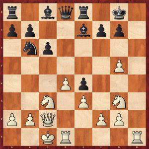 Gulko-Van der Sterren Amsterdam 1988 Move 15 White to play